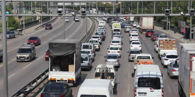 Bursa'nın tek derdi trafik