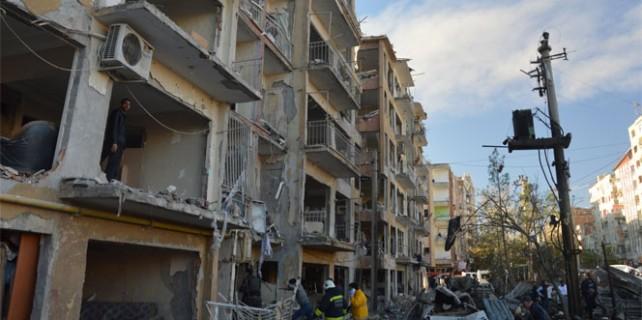 Diyarbakır'da patlama..!