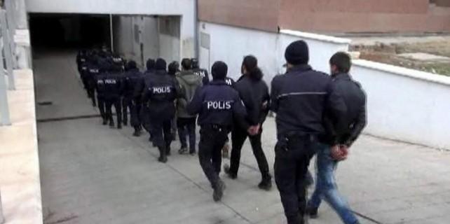 Bursa'da terör operasyonu...29 gözaltı