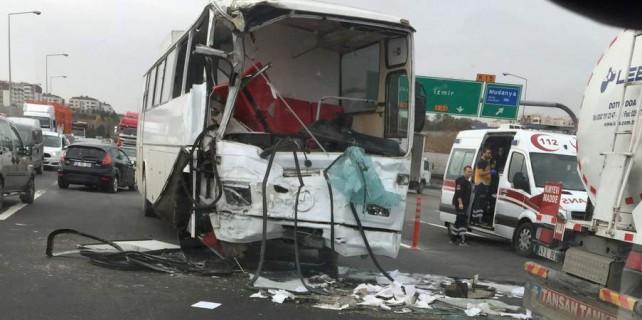 Bursa Otobanı'nda feci kaza