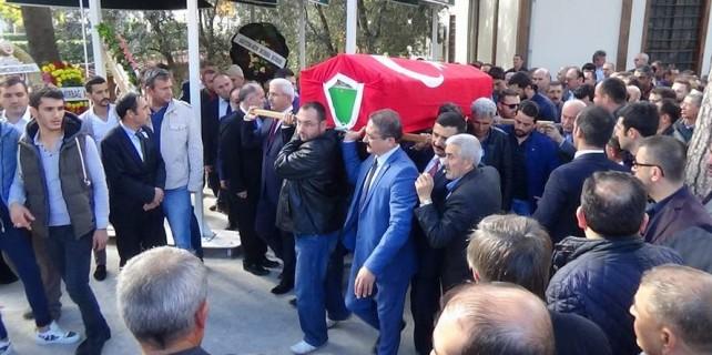 Bursa'da Seval öğretmene gözüyaşlı veda