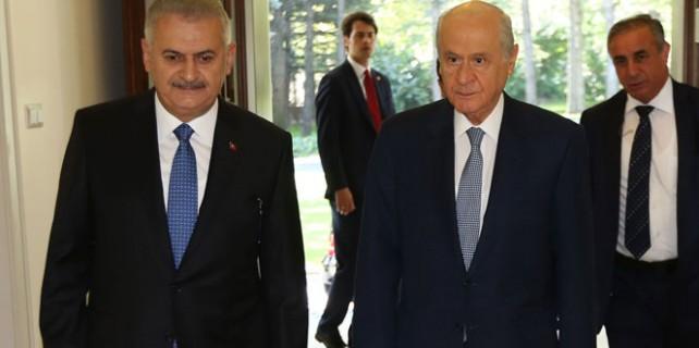 Bahçeli ile Başbakanın görüşmesinin perde arkası
