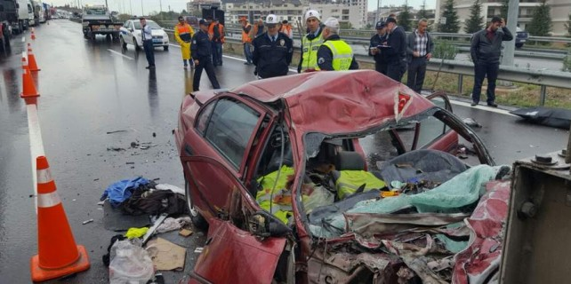 Bursa'da kaza dehşeti...