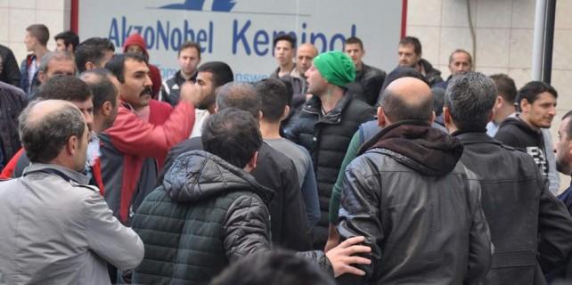 Bursa'da olaylı maç...