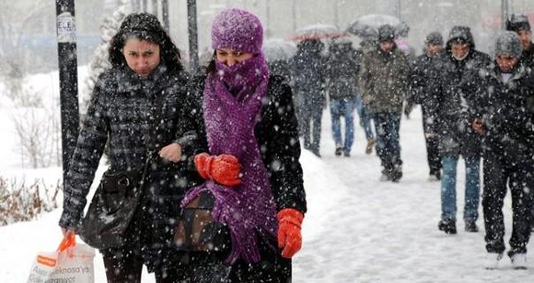 Bursalılar bu habere dikkat...Kar geliyor