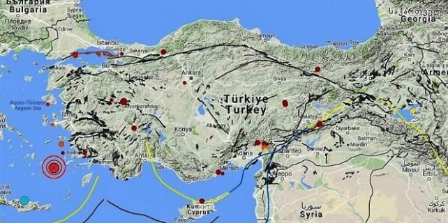 1 saatte 9 deprem