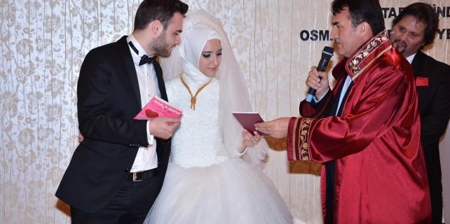 Arjantinli gelinin nikahı Bursa'da kıyıldı