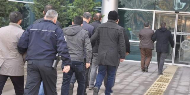 Bursa'da işadamlarına FETÖ operasyonu