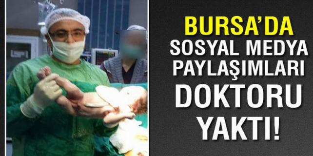 Sosyal medyadaki paylaşım doktorun başını yaktı