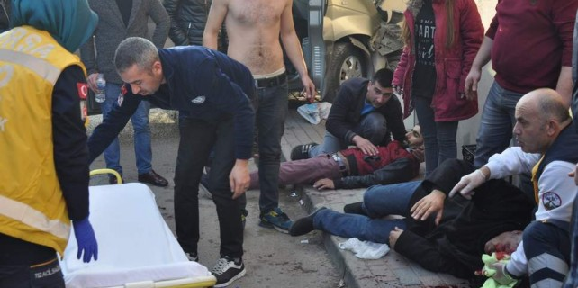 Bursa'da ortalık savaş alanı