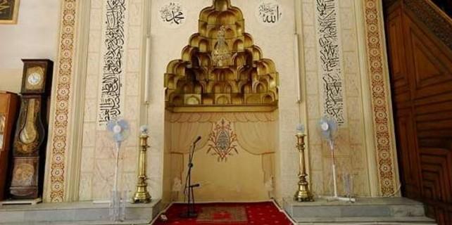 Bursa'da tarihi camide skandal...