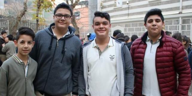 Bursa'da 36 bin öğrenci aynı heyecanı yaşadı