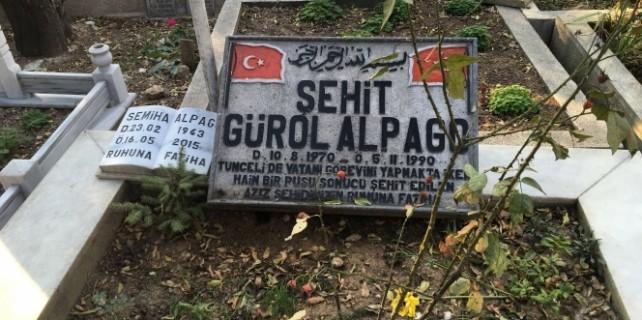 Büyükşehirden şehit ailesine mezar ayıbı