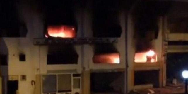 Atatürk Stadı'nda yangın paniği