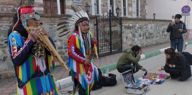 Bursa'yı kızılderililer bastı