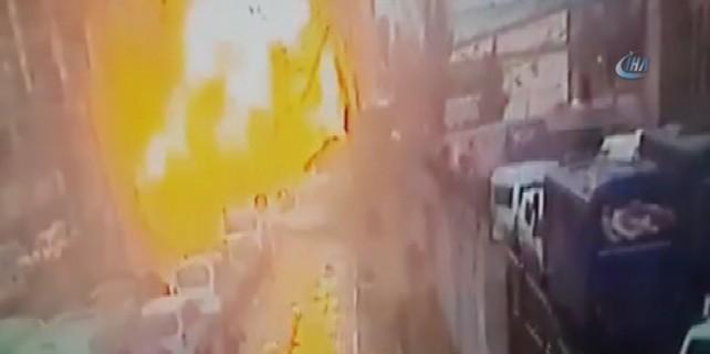 Hain saldırı kameralara yansıdı