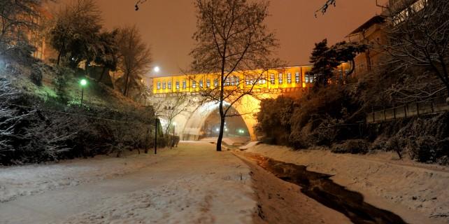 Kar Bursa'ya yakıştı