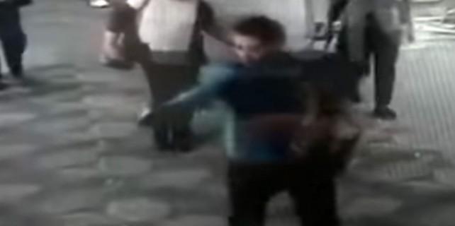 ABD saldırganı kamerada