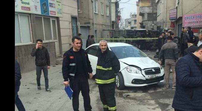 Bursa'da kaza dehşeti..O anlar kamerada