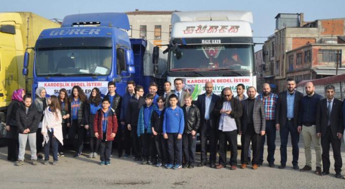 Bursa'dan Suriye'ye 6 TIR