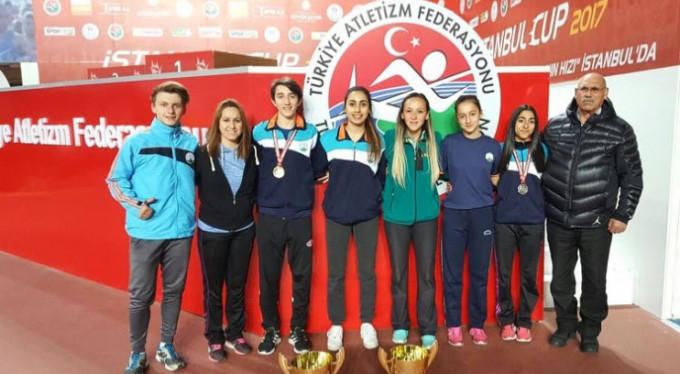 Osmangazili atletlerden 5 madalya
