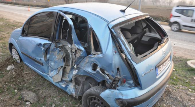 Korkunç kaza: 3'ü çocuk 7 yaralı