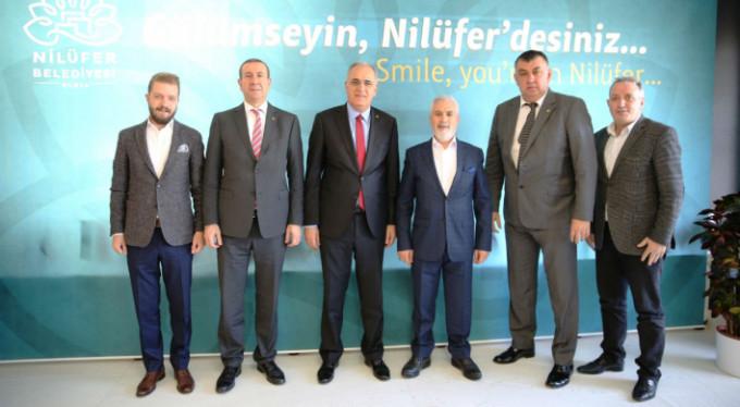 TVF Başkanı'ndan Bozbey'e ziyaret