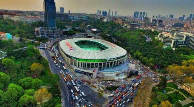 Vodafone Arena'ya büyük sürpriz