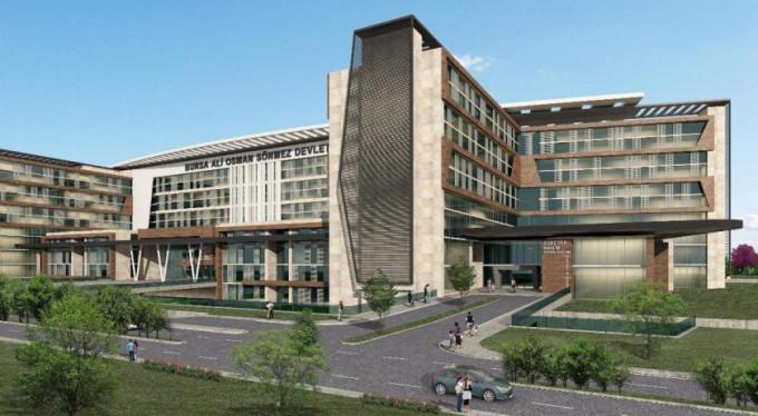 İşte Bursa'nın yeni sağlık üssü...