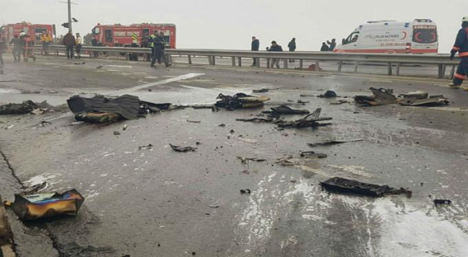 Helikopter kazasında ölenlerin kimlikleri belli oldu