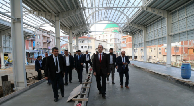 İşte Bursa'nın yeni pazar yeri!