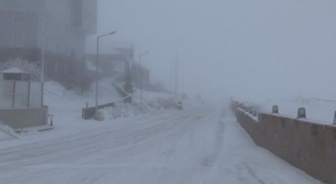 Kar Bursa'yı terk etmedi! 95 santimetre...
