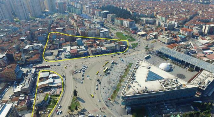 Bursa Kent Meydanı için yeni adım