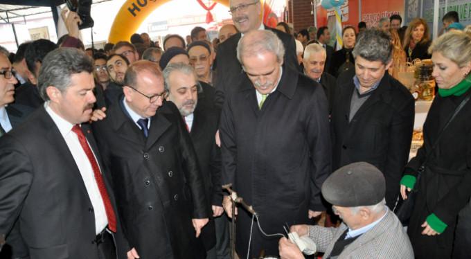 Bursalıların beklediği fuar açıldı