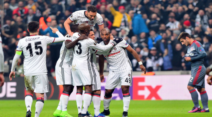 Beşiktaş çeyrek fiinalde