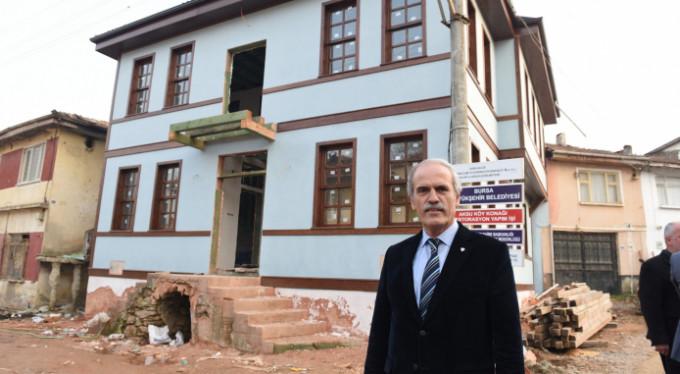 Bursa'nın tarihi binası yenileniyor!