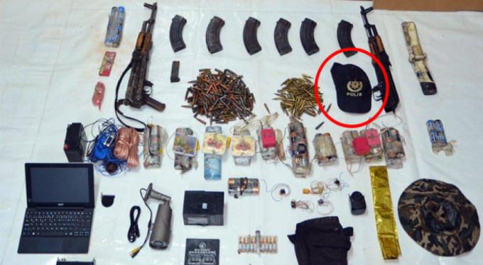 PKK sığınağından çıktı