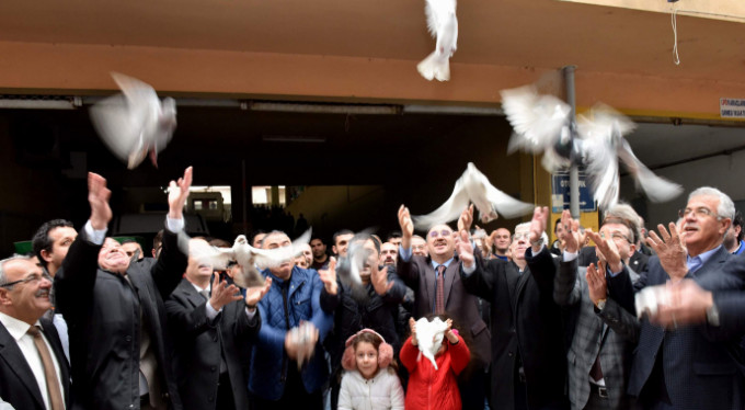 Bursa'da güvercin karnavalı!