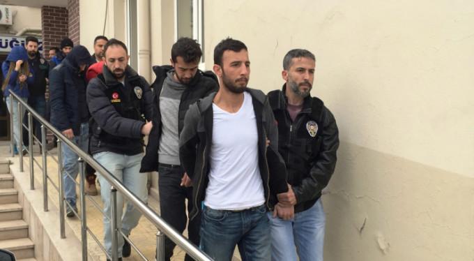 Bursa'da 1 haftada 23 kişi tutuklandı!