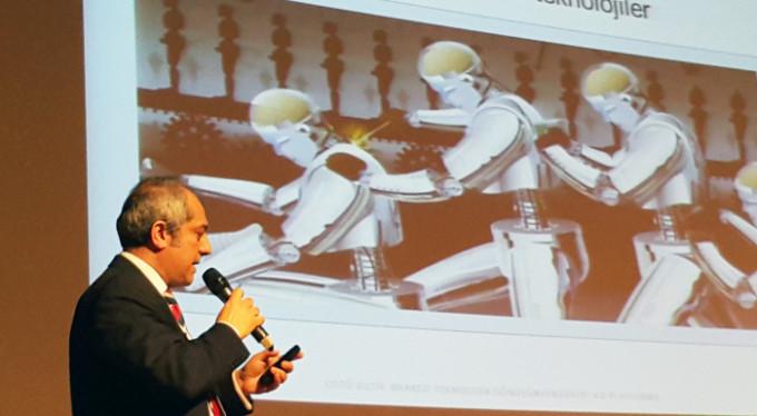 Endüstriyel robot tehlikesi!..
