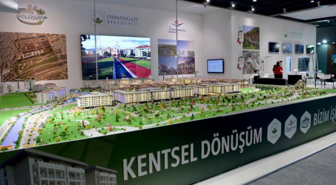Dev proje Bursa'daki fuarda boy gösterecek