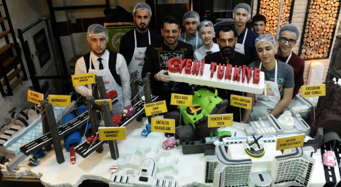 Bu pasta Bursa'dan Cumhurbaşkanı'na gidecek
