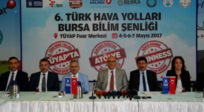 Bursa'da dünya rekoru için geri sayım