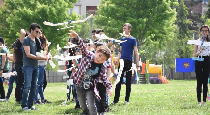 Bursa'da ata model uçak şampiyonası