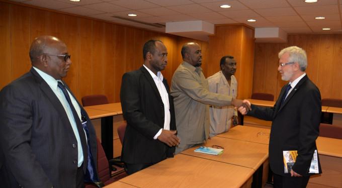 Uludağ Üniversitesi'nden Sudan'a akademik destek