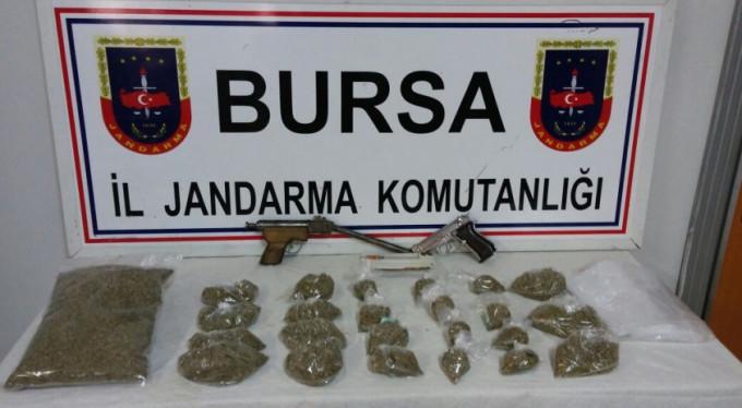 Bursa'da jandarmadan operasyon