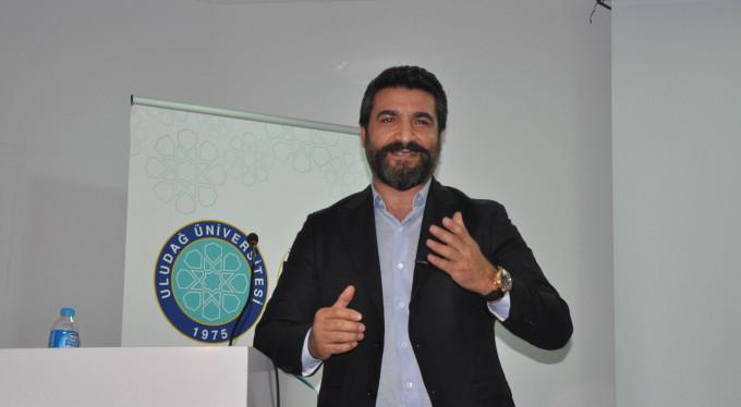 Uludağ Üniversitesi'nde başarı hikayesini anlattı