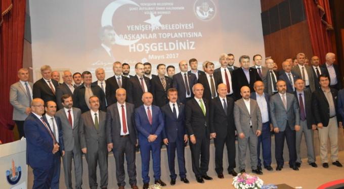 Bursa'nın belediye başkanları toplandı