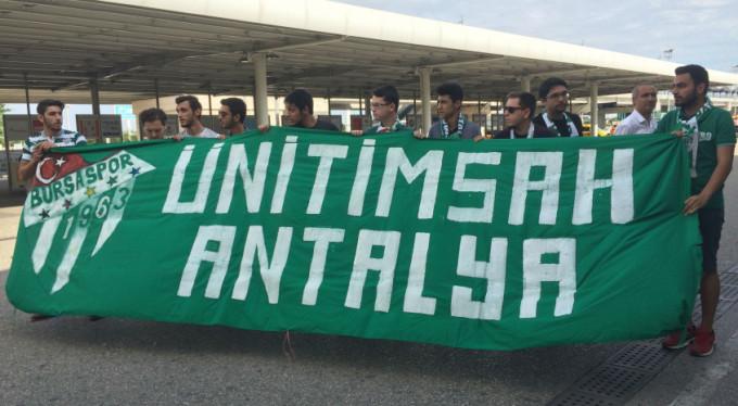 Bursaspor'u Ünitimsah yalnız bırakmadı