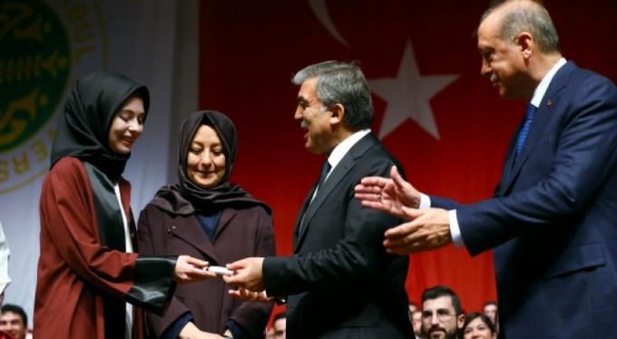 Gül ailesinin mutlu günü! Erdoğan da oradaydı